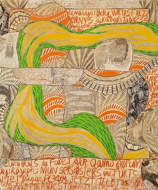 , 'Mapa ed veneyis #3,' 2005, Galerie Claire Corcia