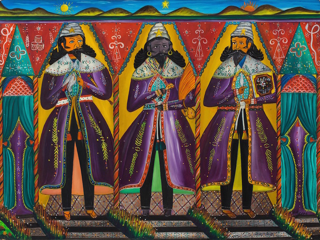 André Pierre, 'Three Kings, 1960', ZQ Art Gallery