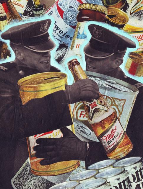 """, '""""Beer Hug"""",' 2017, Parlor Gallery"""