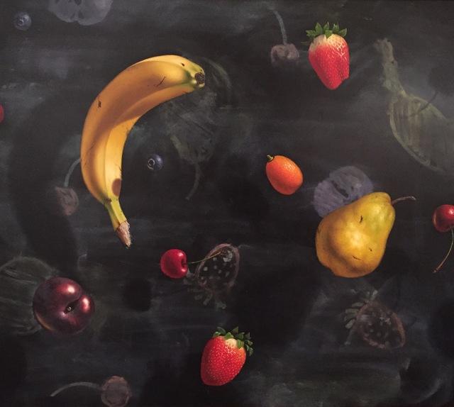 Otto Duecker, 'Chalkboard Floating Fruit', 2013, M.A. Doran Gallery