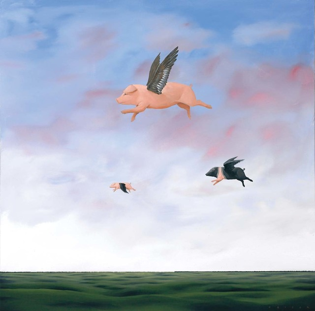 , 'When Pigs Fly,' 2007, Martin Lawrence Galleries