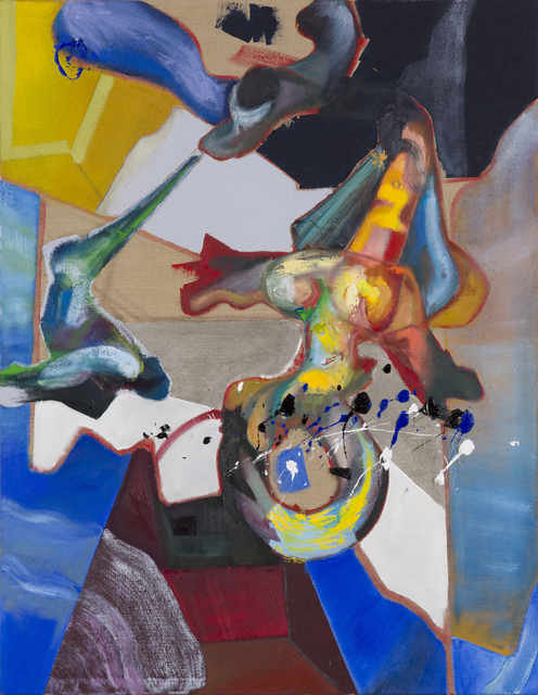 , 'Night Surfing Dilemma,' 2016, SEXAUER Gallery