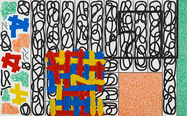 Jonathan Lasker, 'The Boundary of Luck and Providence', 2011, Thaddaeus Ropac