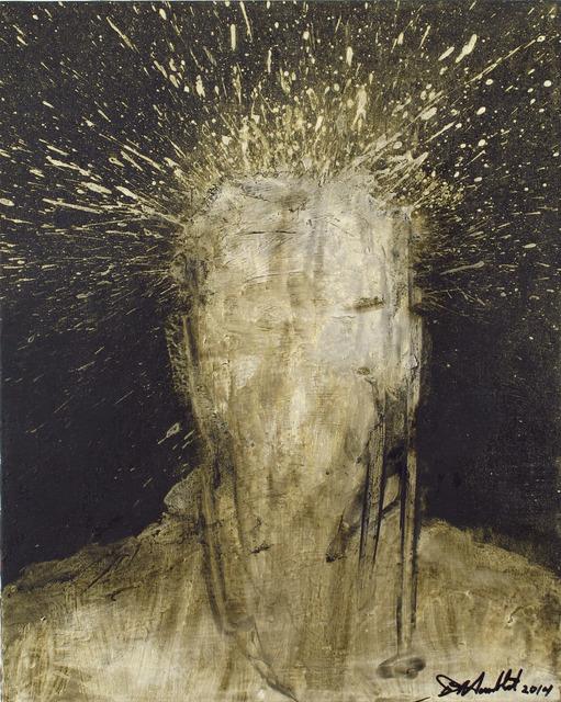 , 'Shadow Head Portrait,' 2014, Woodward Gallery