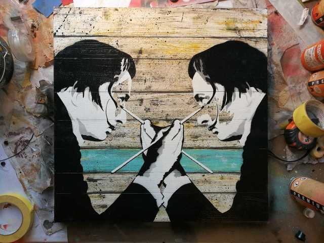 , 'Dali's Masterpiece (Salvador Tabby),' 2018, Landmark Street Art
