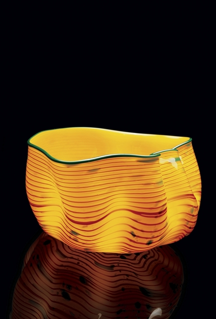 Chihuly Studio, 'Desert Yellow Macchia', 2006, Sculpture, Blown glass, Public Art Fund Benefit Auction