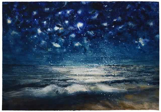 , 'Stars and Sea at Night XIX,' 2016, Marlborough London