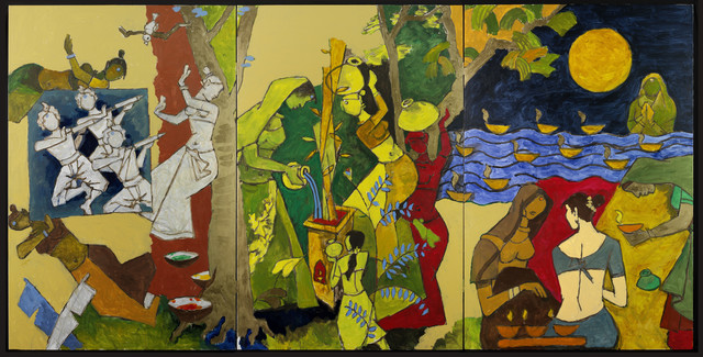 , 'Traditional Indian Festivals,' 2008-2011, Victoria and Albert Museum (V&A)