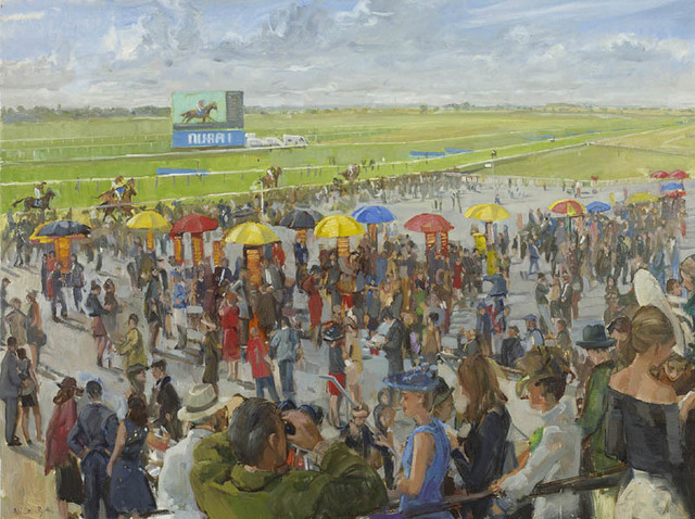 , 'Newmarket Races, the End of Summer I                ,' 2017, Portland Gallery