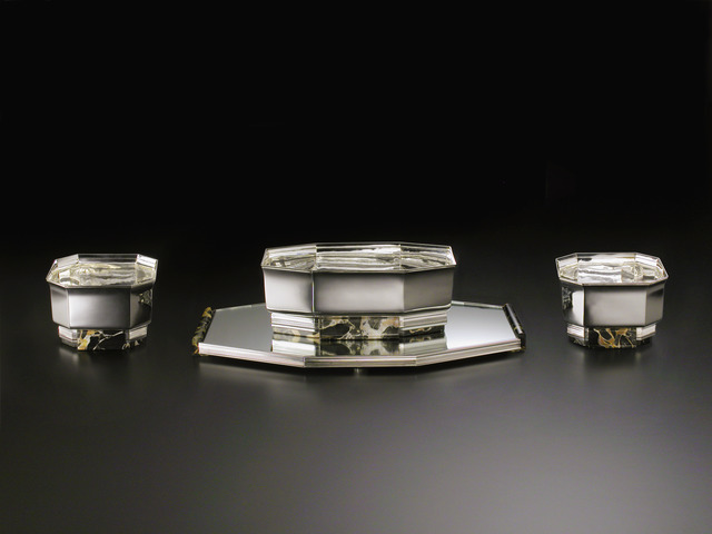 , 'Art Deco set of four centerpieces,' ca. 1930, Fine Art Silver