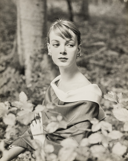 Norman Parkinson, 'Nena von Schlebrugge: Elegant, in the Forest (First Test Shots)', 1955, Forum Auctions