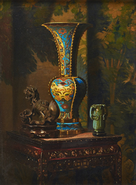 Untitled (Still Life with Chinese Vase)