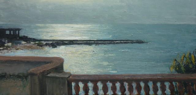 ", '""La terrasse de JD II"",' 2016, Hugo Galerie"