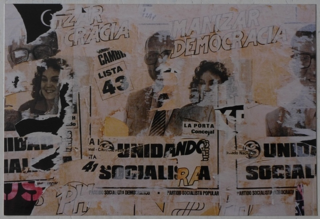 ", 'From the series ""Estampas porteñas"", ""Democracy"",' 1987, Rolf Art"