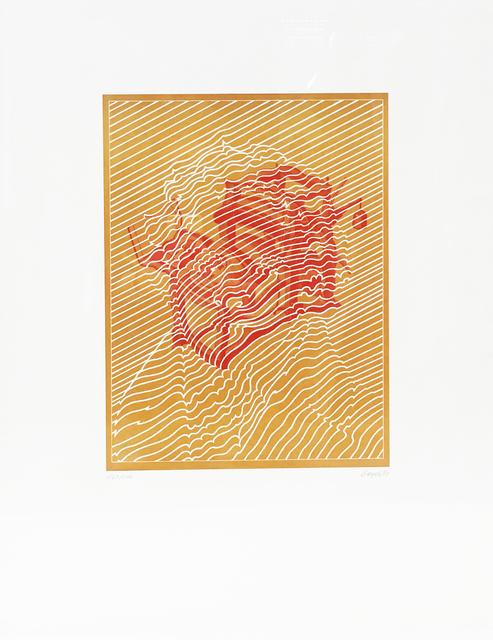 , 'Portrait Senefelder,' 1971, Bode Gallery