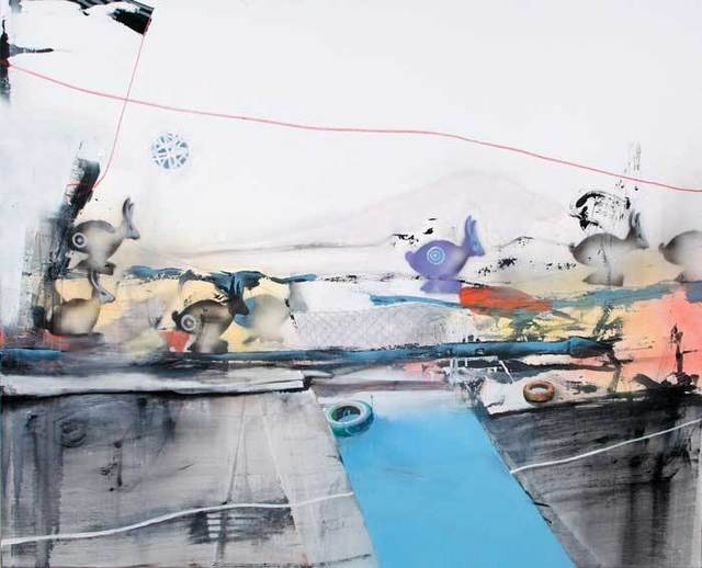 , 'Over the border ,' 2012, Galerie Kellermann