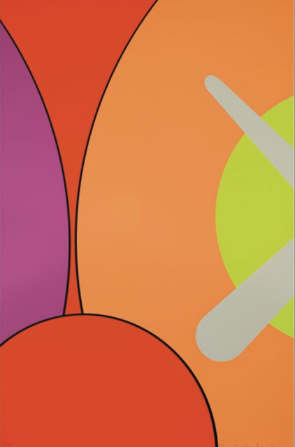 KAWS, 'No Reply', 2015, Print, Silkscreen on paper, Gin Huang Gallery