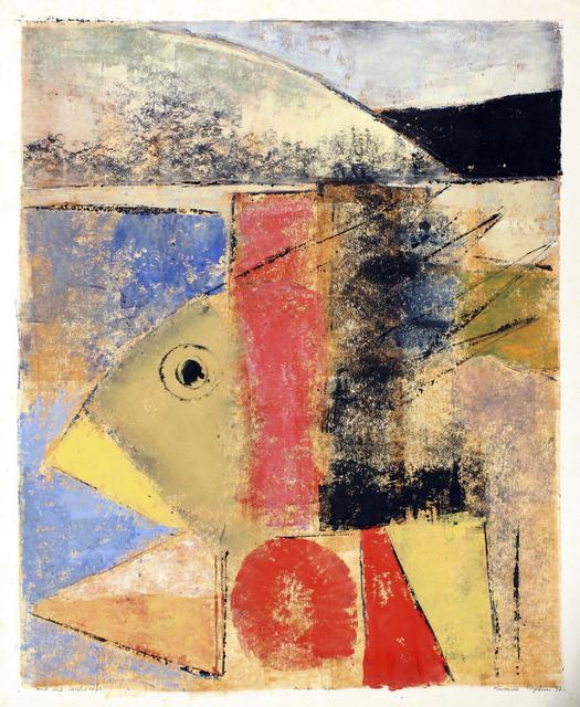 , 'Pond & Landscape,' 1997, TAFETA