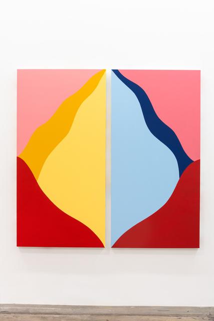 , 'untitled diptych #001,' 2019, Brannan Mason Gallery