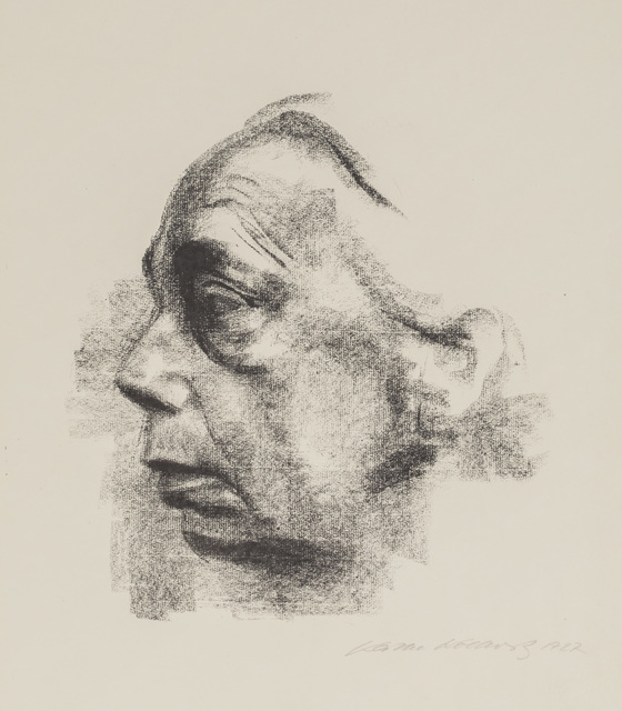 , 'Self-Portrait in Profile,' 1927, Galerie St. Etienne