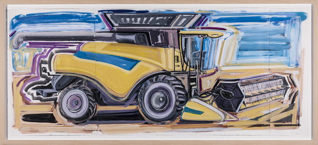 , 'New Holland Combine,' 2012, Rosamund Felsen Gallery