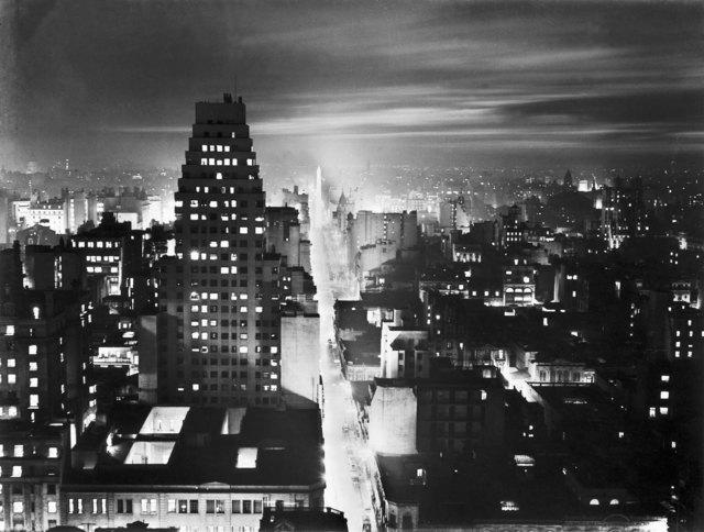 , 'Corrientes Street,' 1936, Jorge Mara - La Ruche