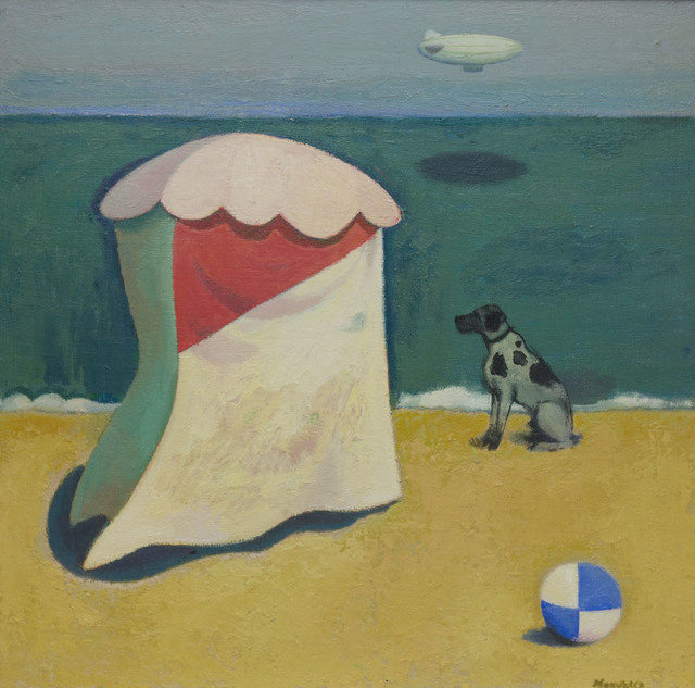 , 'The Beach Tent,' ca. 1987, The Scottish Gallery