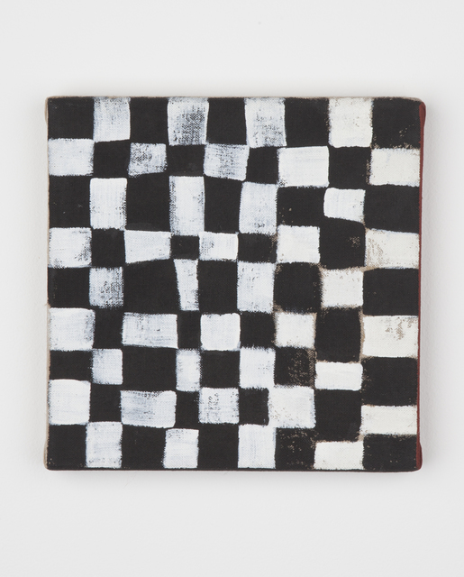 , 'Untitled (Checkerboard),' ca. 1990, Kristof De Clercq