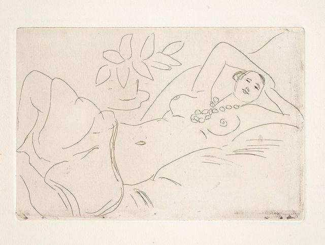 , 'ODALISQUE COUCHEE,' 1923, Galerie Maximillian