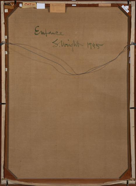 Stanton MacDonald-Wright, 'Enfance', 1955, Painting, Oil on canvas, Doyle