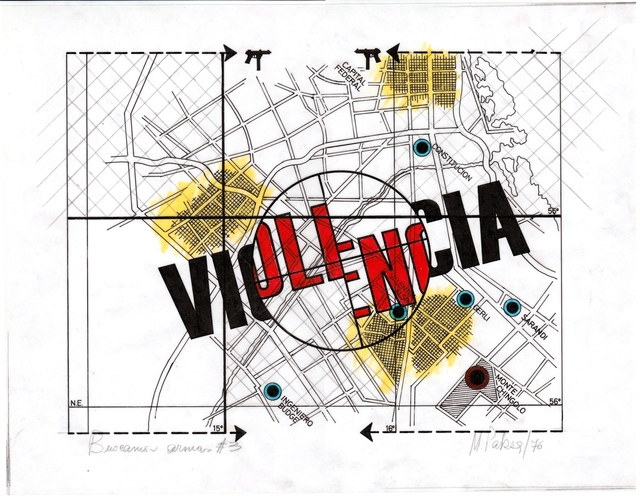 , 'Violencia . de la serie Batallas,' 1972, Document Art