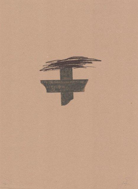 Antoni Tàpies, 'Llambrec material I', 1970-1980, ARTEDIO