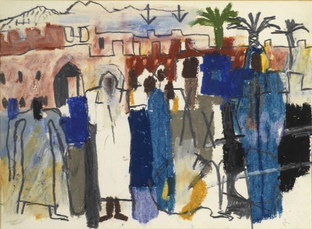 , 'North African Scene,' 1965, Osborne Samuel