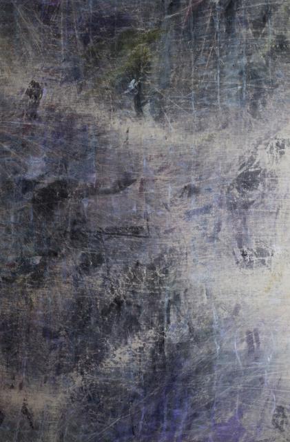 , 'the sea falling down her iron wall as far as the bilge,' 2018, Peter Blake Gallery