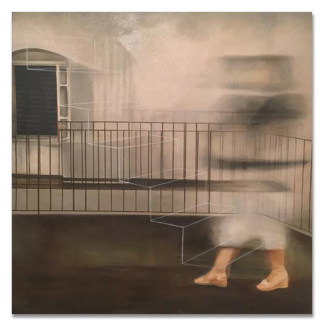 """, '""""En la escalera de hilo III"""",' 2017, PRIMARY"""
