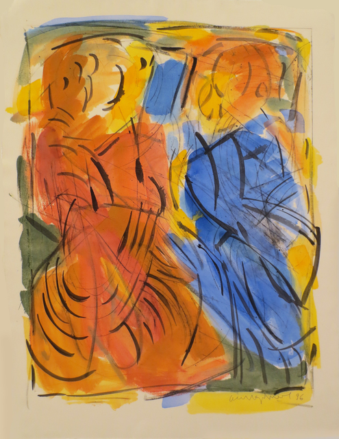 , 'Painting, Two Figures (I),' 1996, Gallery Neptune & Brown