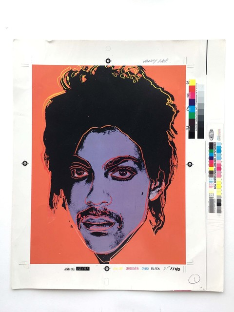 Andy Warhol, 'Portrait of Prince', 1984, Gallery 52