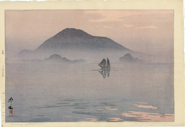 , 'Evening After Rain,' 1926, Egenolf Gallery Japanese Prints & Drawing