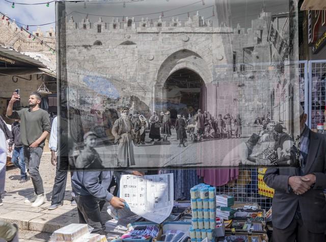 Jack Persekian, 'Friday at the Damascus Gate', 2019, Zawyeh Gallery