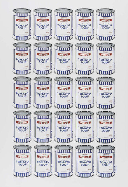 Banksy, 'Soup Cans', 2006, EHC Fine Art: Essential Editions IX