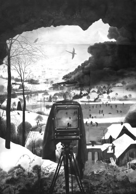 , 'A dream for winter,' 2018, Galerie Les filles du calvaire
