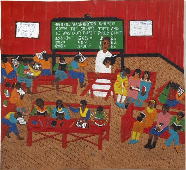 , 'Ms. Prather's Reading Class,' 2014, Adelson Galleries