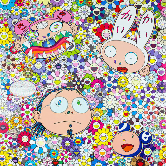 Takashi Murakami, 'The Creative Mind', 2015, Print, Woven paper, four-color offset printing, cold foil stamp, glossy varnish, Little Art Piece