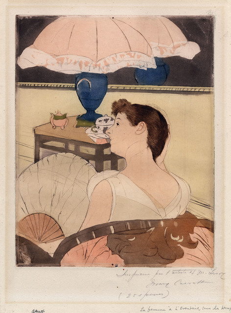 Mary Cassatt, 'The Lamp.', ca. 1891, The Old Print Shop, Inc.
