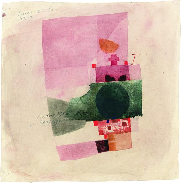 , 'Lindau 29.1.60,' 1960, Galerie Carzaniga