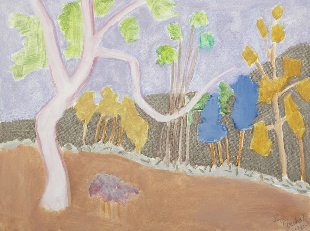 , 'Various Trees,' 1985, Childs Gallery