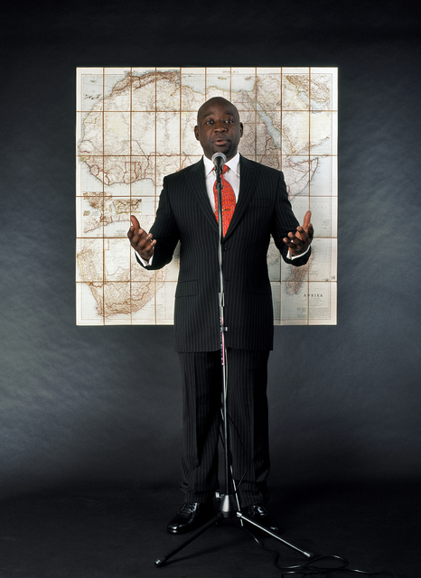 , 'Stupid African President 1,' 2006, Tang Teaching Museum and Art Gallery