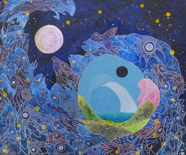 Miki Yokoyama, 'Moons 2 ', 2019, Disruptive Canvas