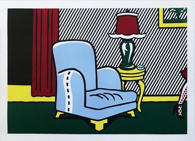 Roy Lichtenstein, 'La Sortie', 1991, Print, Woodcut on 4-ply Paper Technologies Inc. Museum Board, Upsilon Gallery