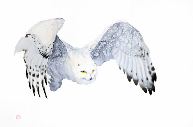 , 'Snowy Owl,' , Cricket Fine Art